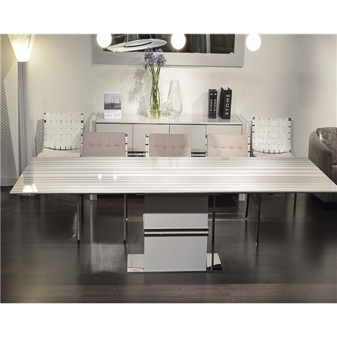 Marble Dining Sets Inside Extending Marble Dining Tables (Image 15 of 25)