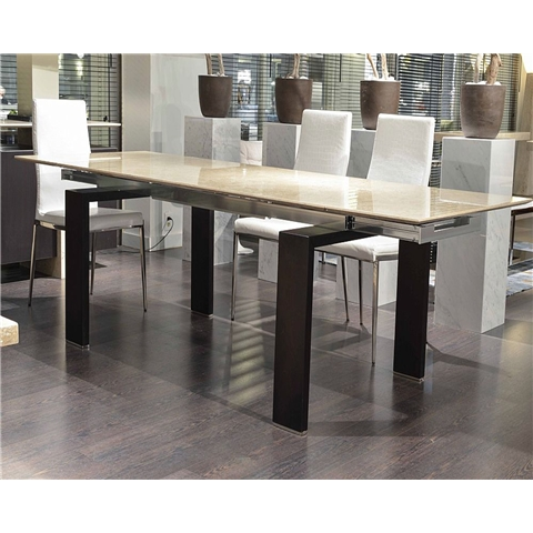 Marble Dining Sets Intended For Extending Marble Dining Tables (Image 16 of 25)