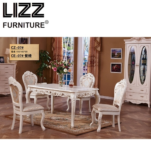 Marble Dining Table Dining Room Furniture Set Royal Furniture Throughout Royal Dining Tables (Image 14 of 25)