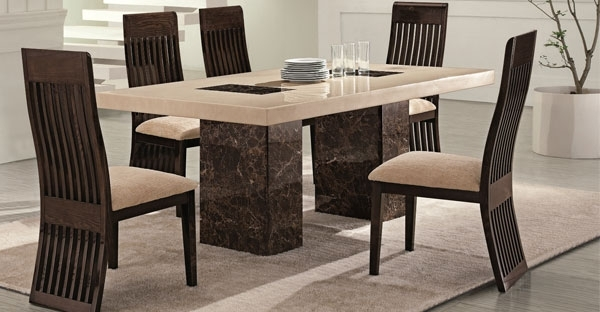 Marble Furniture: Dining Table Furniture Online – Cfs Uk Throughout Marble Dining Chairs (Image 20 of 25)
