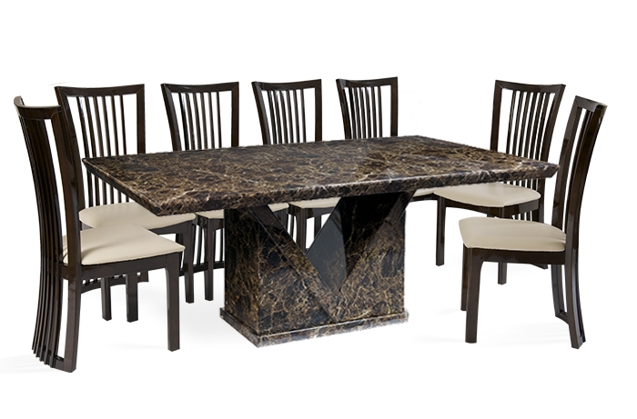 Marble Table | Product Tags | Thomas Brown Furnishings Throughout Dining Table And 10 Chairs (View 11 of 25)