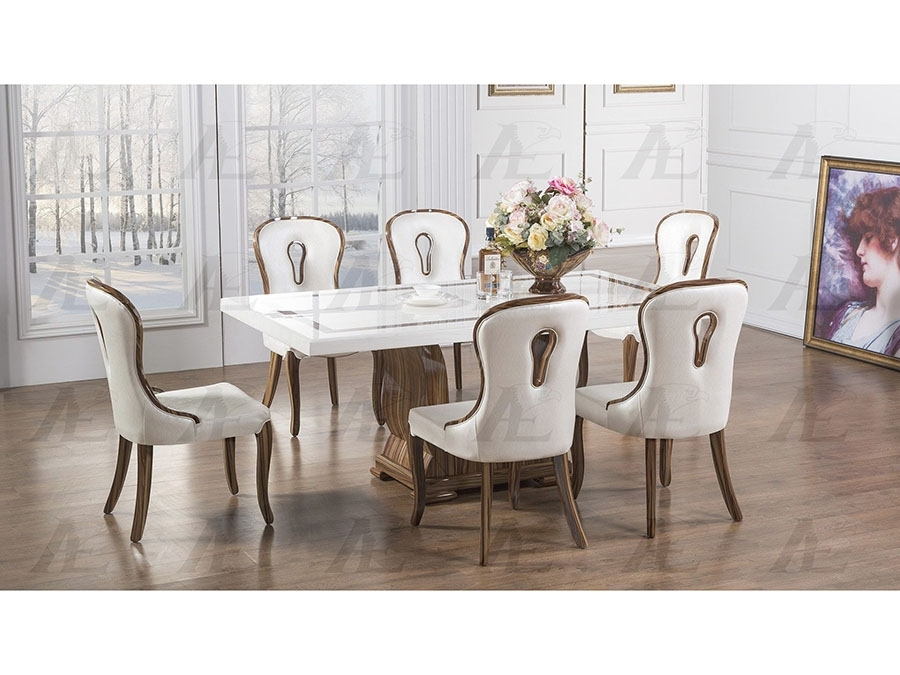 Marble Top Dining Set – Shop For Affordable Home Furniture, Decor Inside Marble Dining Chairs (View 10 of 25)