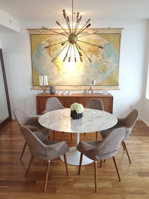 Marble Tulip Dining Table In 2018 | Home 2018 | Pinterest | Dining Throughout Lassen Round Dining Tables (Image 16 of 25)