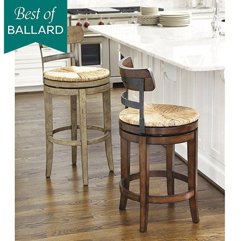 Marguerite Counter Stool Reg $359 Sale $259 Color Shown: Aged Regarding Laurent 7 Piece Counter Sets With Wood Counterstools (View 14 of 25)