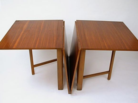 Maria Drop Leaf Teak Dining Tablebruno Mathsson In 2018 | Drop Within Drop Leaf Extendable Dining Tables (Image 21 of 25)