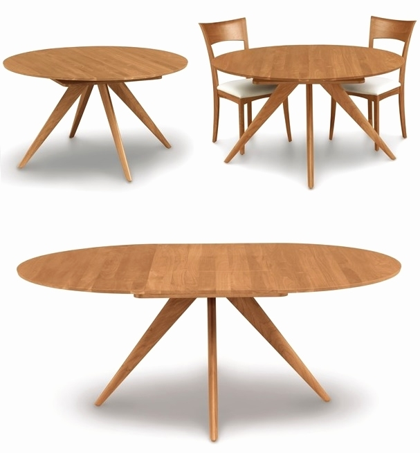 Maria Yee Ojai Round Extension Dining Table Gump S Intended For For Jaxon Round Extension Dining Tables (Image 16 of 25)