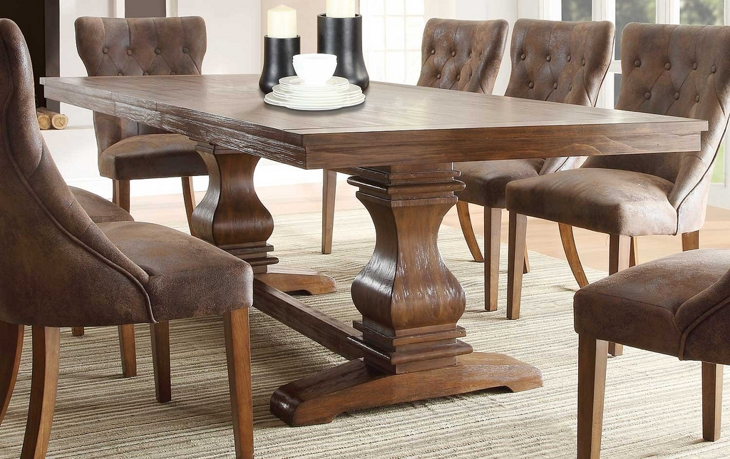 Marie Louise Weathered Oak Dining Table With Leaf | Created … | Flickr Pertaining To Oak Dining Suites (Image 14 of 25)