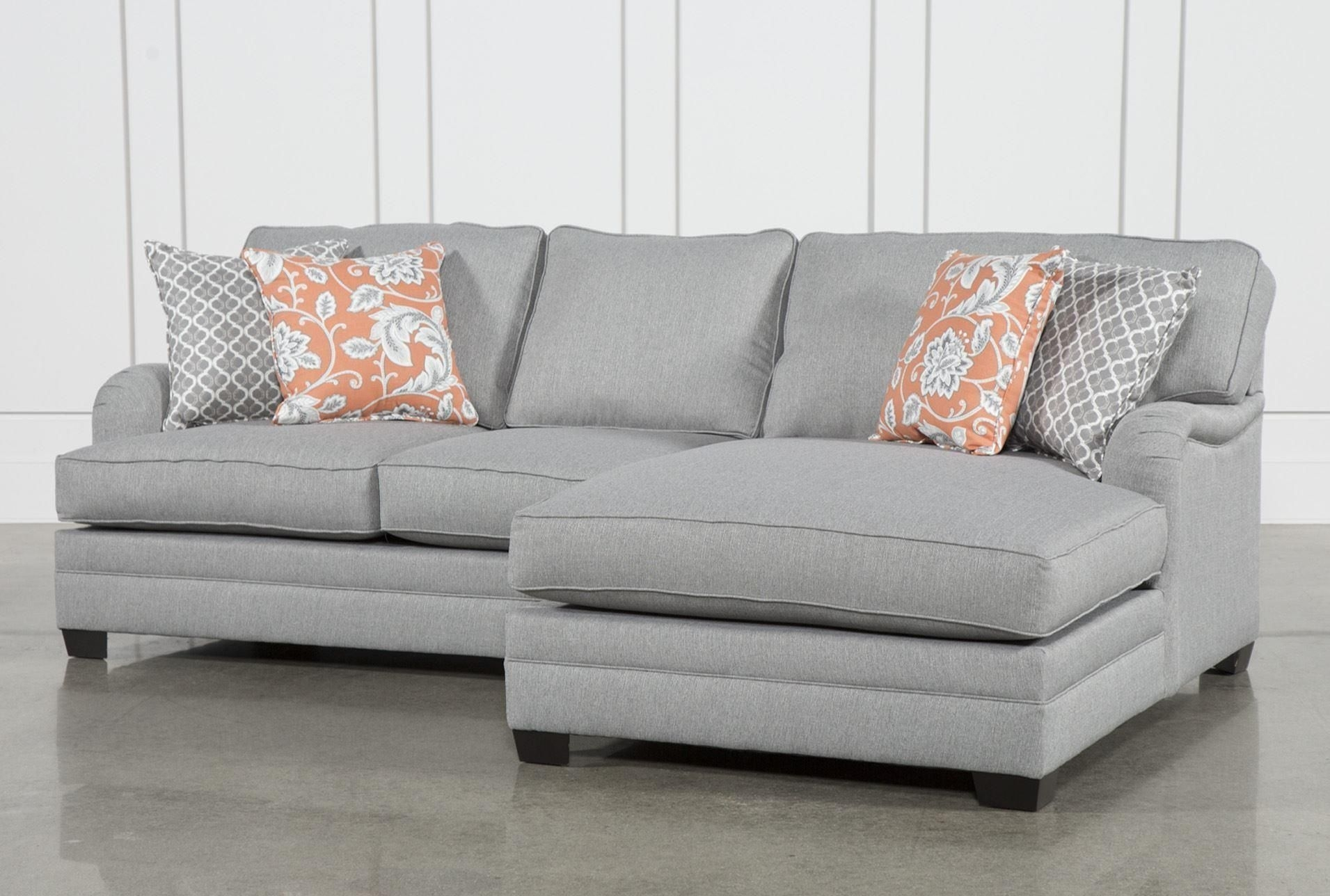 Marissa 2 Piece Sectional W/raf Chaise For Taren Reversible Sofa/chaise Sleeper Sectionals With Storage Ottoman (View 17 of 25)