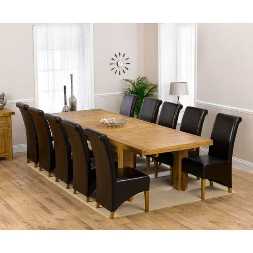 Mark Harris Laurent Solid Oak 230Cm Extending Dining Table With Laurent Rectangle Dining Tables (Image 20 of 25)