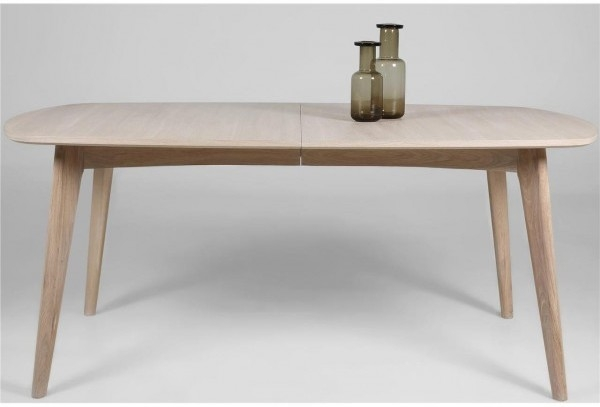 Marte Modern Extending Dining Table Oak | Dining Tables Within Contemporary Extending Dining Tables (View 6 of 25)