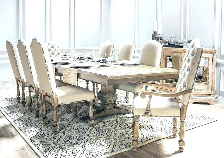 Marvelous Ideas Living Spaces Dining Room Tables Norwood 9 Piece With Norwood 7 Piece Rectangular Extension Dining Sets With Bench & Uph Side Chairs (Image 13 of 25)