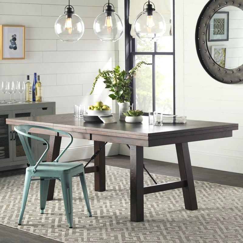 Material Dining Room Chairs Chandler 7 Piece Extension Dining Set W In Chandler 7 Piece Extension Dining Sets With Fabric Side Chairs (Image 14 of 25)