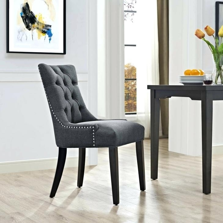 Material Dining Room Chairs Chandler 7 Piece Extension Dining Set W In Chandler 7 Piece Extension Dining Sets With Fabric Side Chairs (Image 13 of 25)