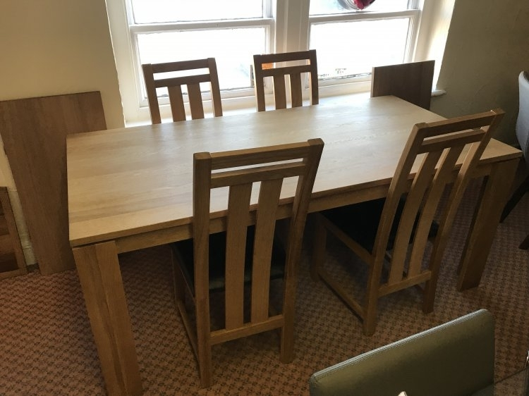 Mayfair Dining Table & 4 Chairs | Eyres Furniture Throughout Mayfair Dining Tables (View 8 of 25)