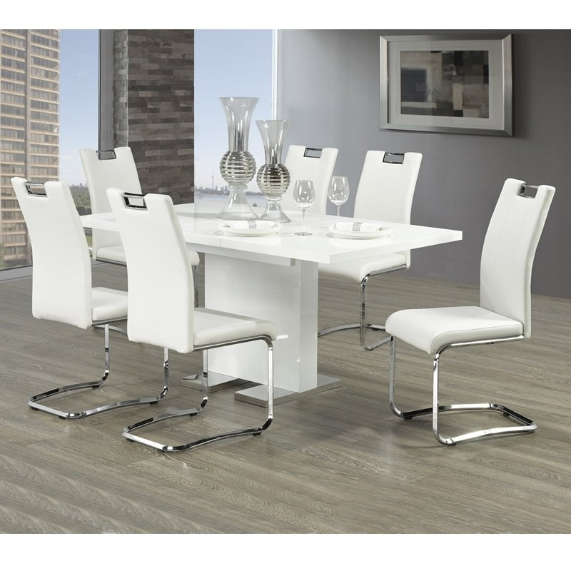 Mazin Furniture Dining Tables Vogue 5433 Dining Table (Rectangle For Vogue Dining Tables (Image 9 of 25)