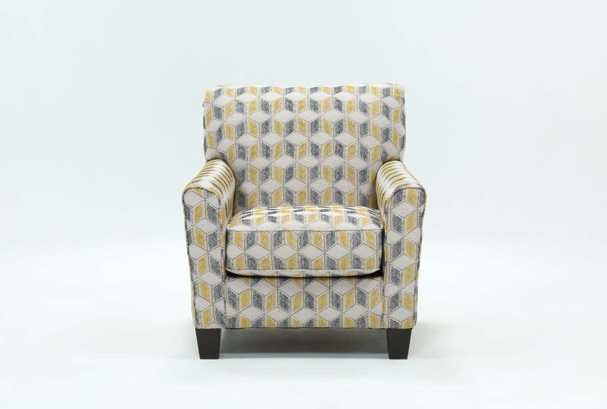 Mcculla Accent Chair | Living Spaces Throughout Mcculla Sofa Sectionals With Reversible Chaise (Image 14 of 25)