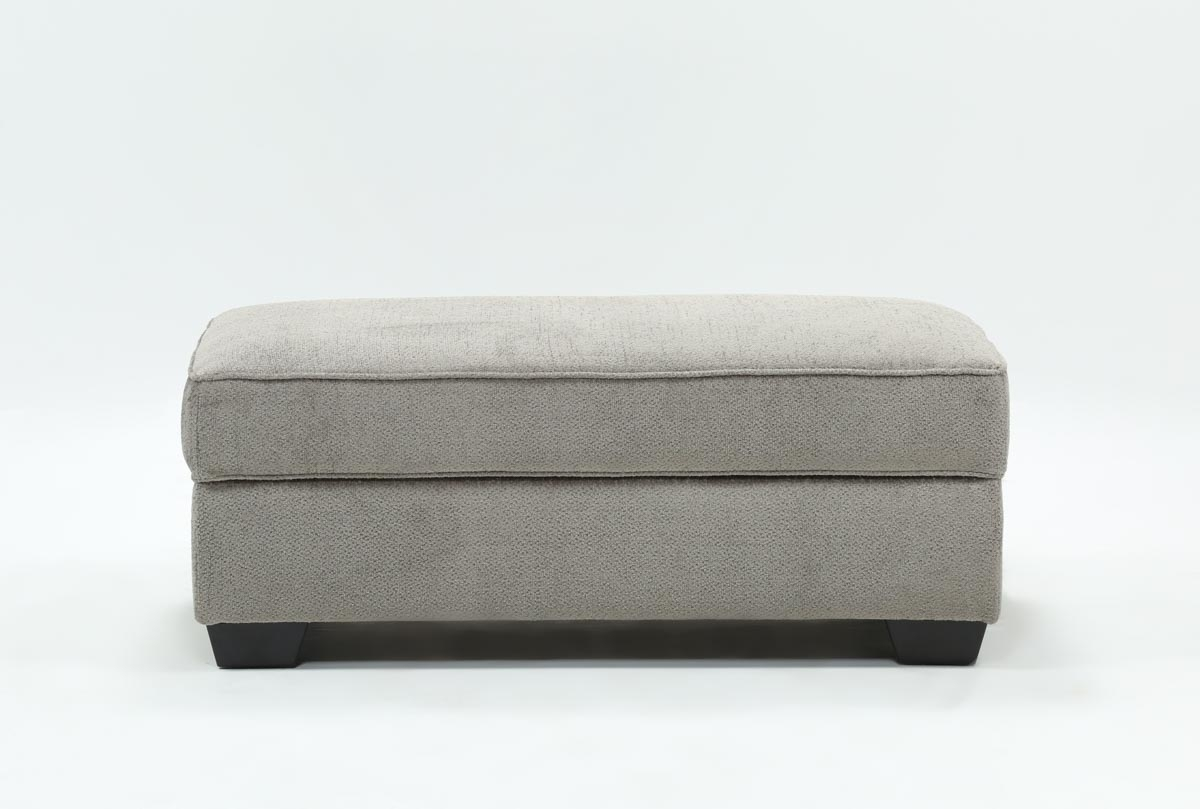 Mcculla Storage Ottoman | Living Spaces With Mcculla Sofa Sectionals With Reversible Chaise (Image 17 of 25)