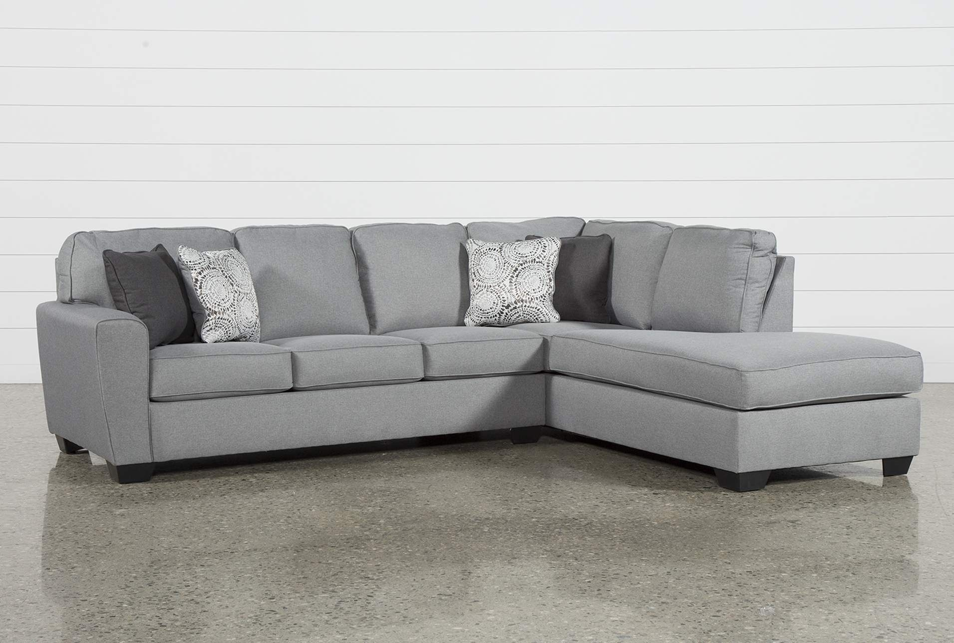 Mcdade Ash 2 Piece Sectional W/raf Chaise | Ash And Products Inside Josephine 2 Piece Sectionals With Raf Sofa (View 16 of 25)