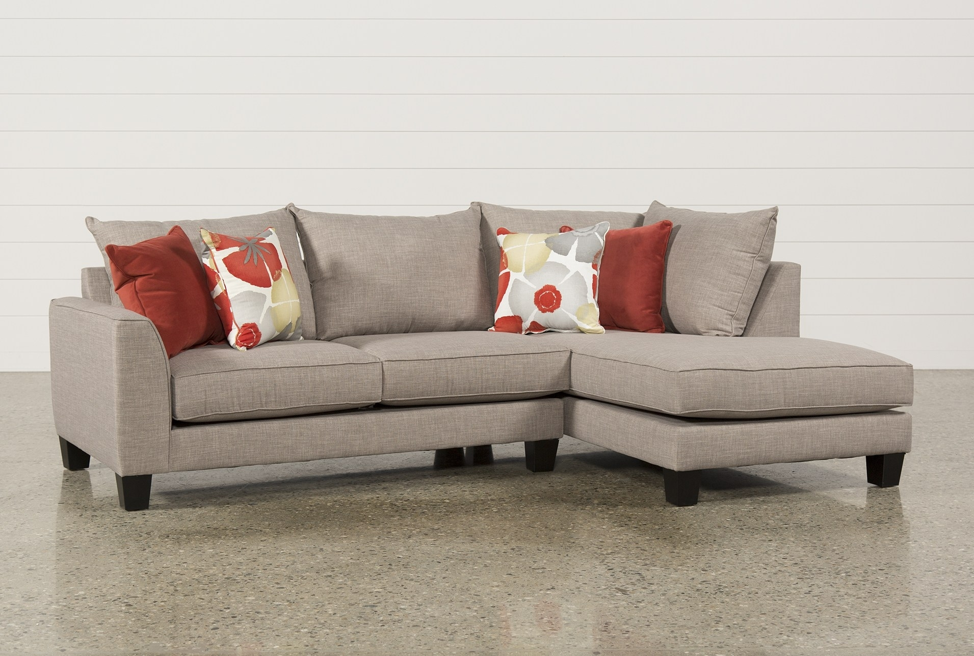 Mcdade Graphite 2 Piece Sectional – Geek Tattoos In Arrowmask 2 Piece Sectionals With Laf Chaise (View 24 of 25)