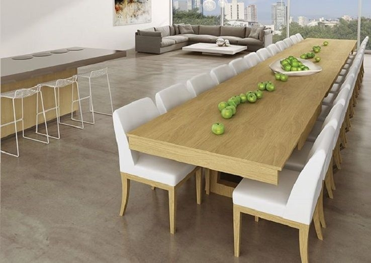 Mega Extendable Dining Table | Home Decor | Pinterest | Dining With Extending Dining Table With 10 Seats (View 7 of 25)