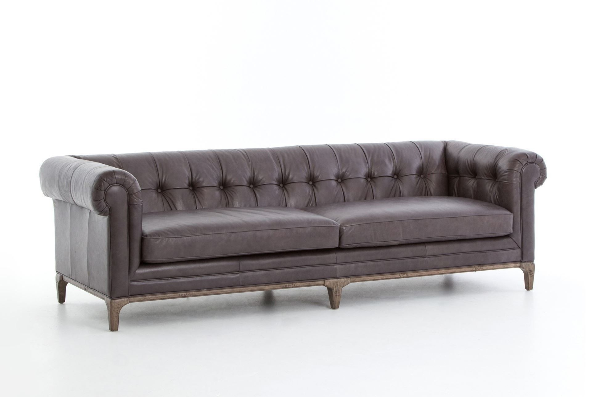 Melanie Gunmetal Sofa | Living Spaces, Living Spaces Furniture And Pertaining To Elm Grande Ii 2 Piece Sectionals (Image 24 of 25)