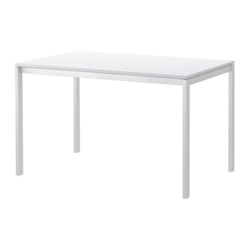 Melltorp Table White 125 X 75 Cm – Ikea With Regard To White Melamine Dining Tables (View 3 of 25)