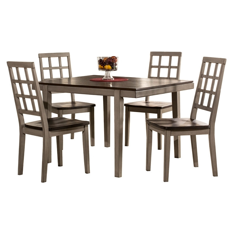 Member's Mark Carter 9 Piece Counter Height Dining Set, Red For Jameson Grey 5 Piece Counter Sets (Image 20 of 25)