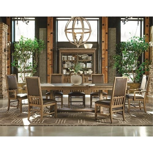 Metalworks Chic 5-Piece Dining Set | Farmhouse Style | Pinterest within Chandler 7 Piece Extension Dining Sets With Wood Side Chairs