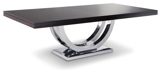 Metro Chrome Base Dining Table – Modern – Dining Tables – Other – Throughout Metro Dining Tables (Image 8 of 25)