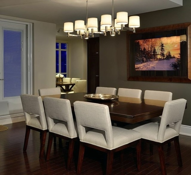 Metro Dining Table – Modern – Dining Room – Toronto Woodcraft Within Metro Dining Tables (View 11 of 25)