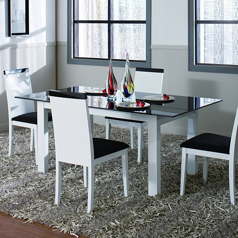 Metro Dining Table (White) Throughout Metro Dining Tables (Image 14 of 25)