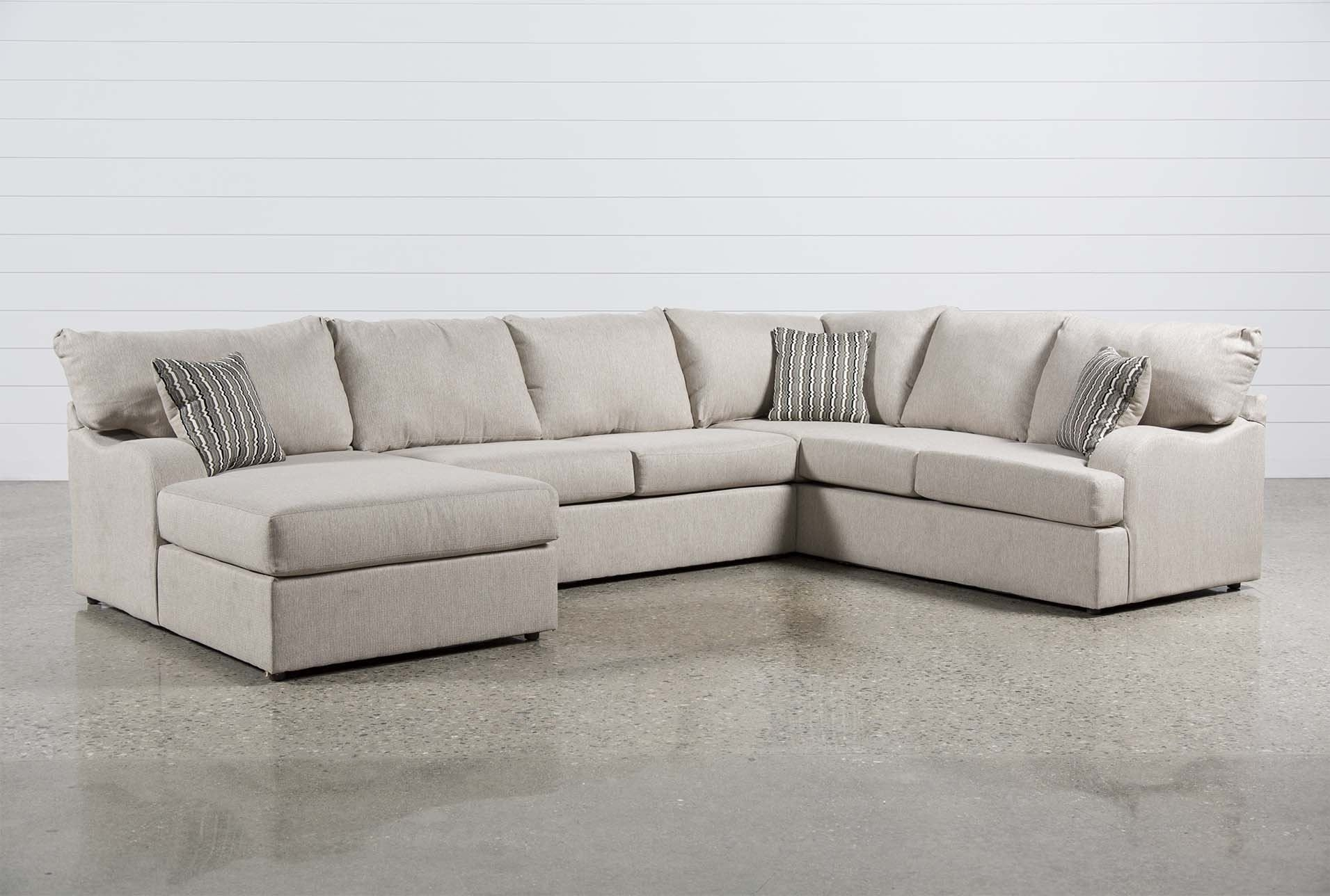 Meyer 3 Piece Sectional W/laf Chaise | Furniture | Pinterest | Beige With Regard To Glamour Ii 3 Piece Sectionals (View 16 of 25)