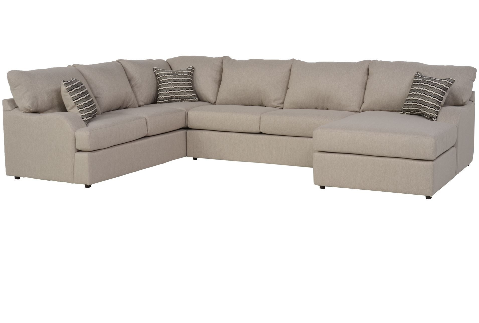 Meyer 3 Piece Sectional W/raf Chaise | Mh | Pinterest | Living Rooms With Regard To Meyer 3 Piece Sectionals With Laf Chaise (Image 18 of 25)