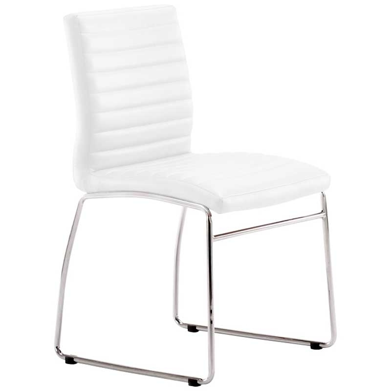 Mia Chrome Dining Chair • Decofurn Factory Shop In Chrome Dining Chairs (View 4 of 25)