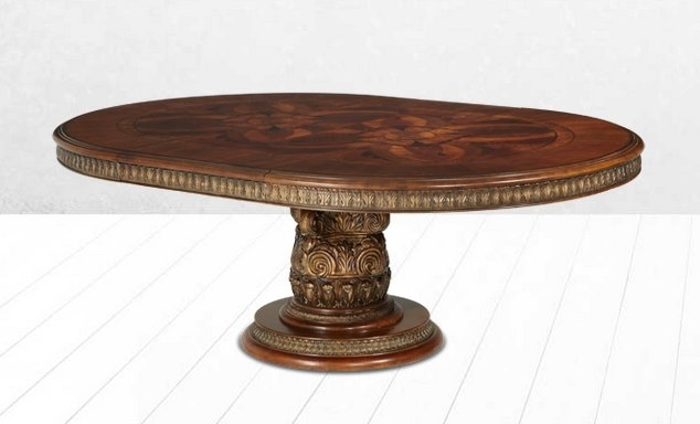Michael Amini Villa Valencia Dining Table | Wayfair With Valencia 5 Piece 60 Inch Round Dining Sets (View 17 of 25)