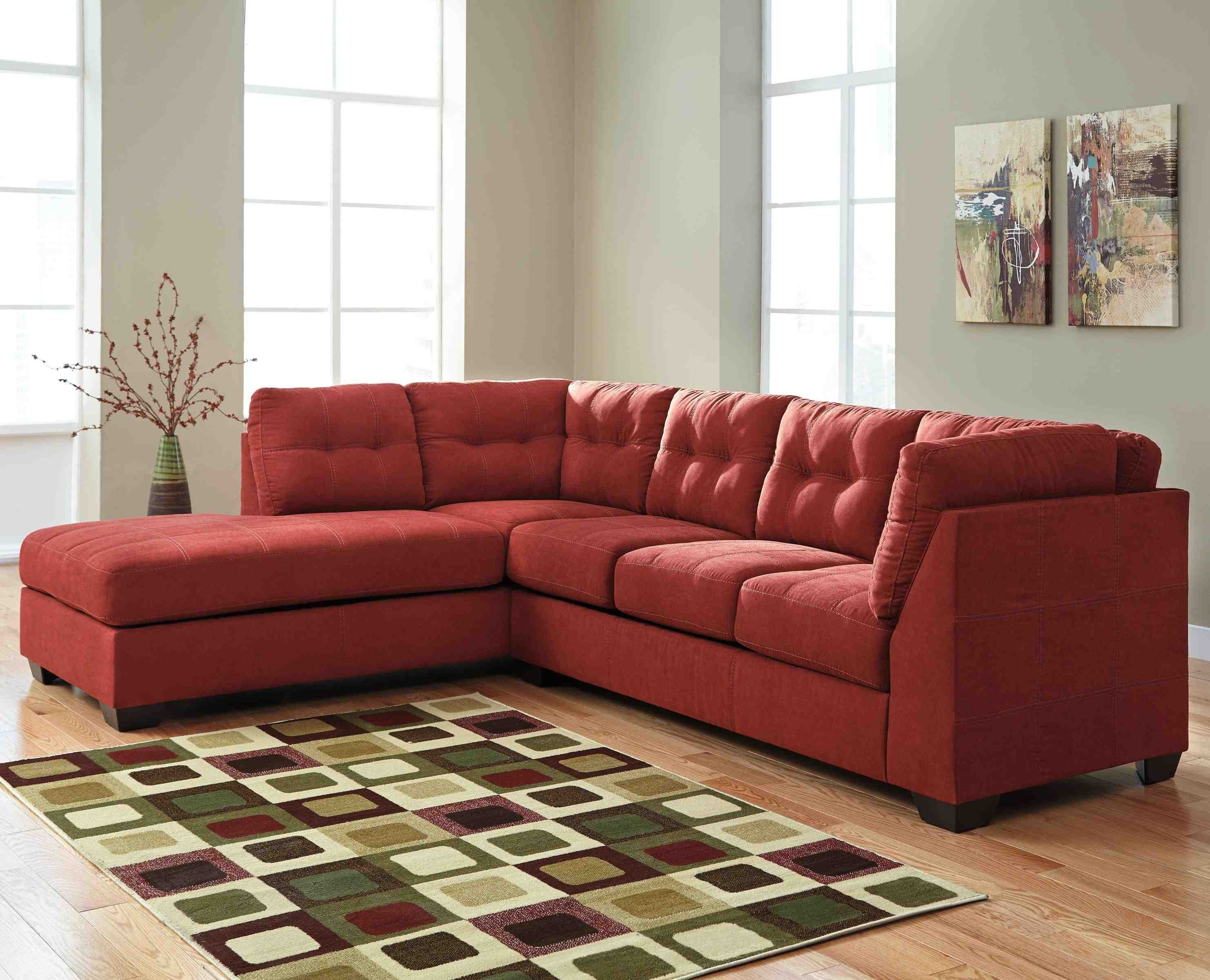 Microfiberctional Sofa With Chaise Amazing Photo Inspirations Inside Arrowmask 2 Piece Sectionals With Raf Chaise (Image 20 of 25)