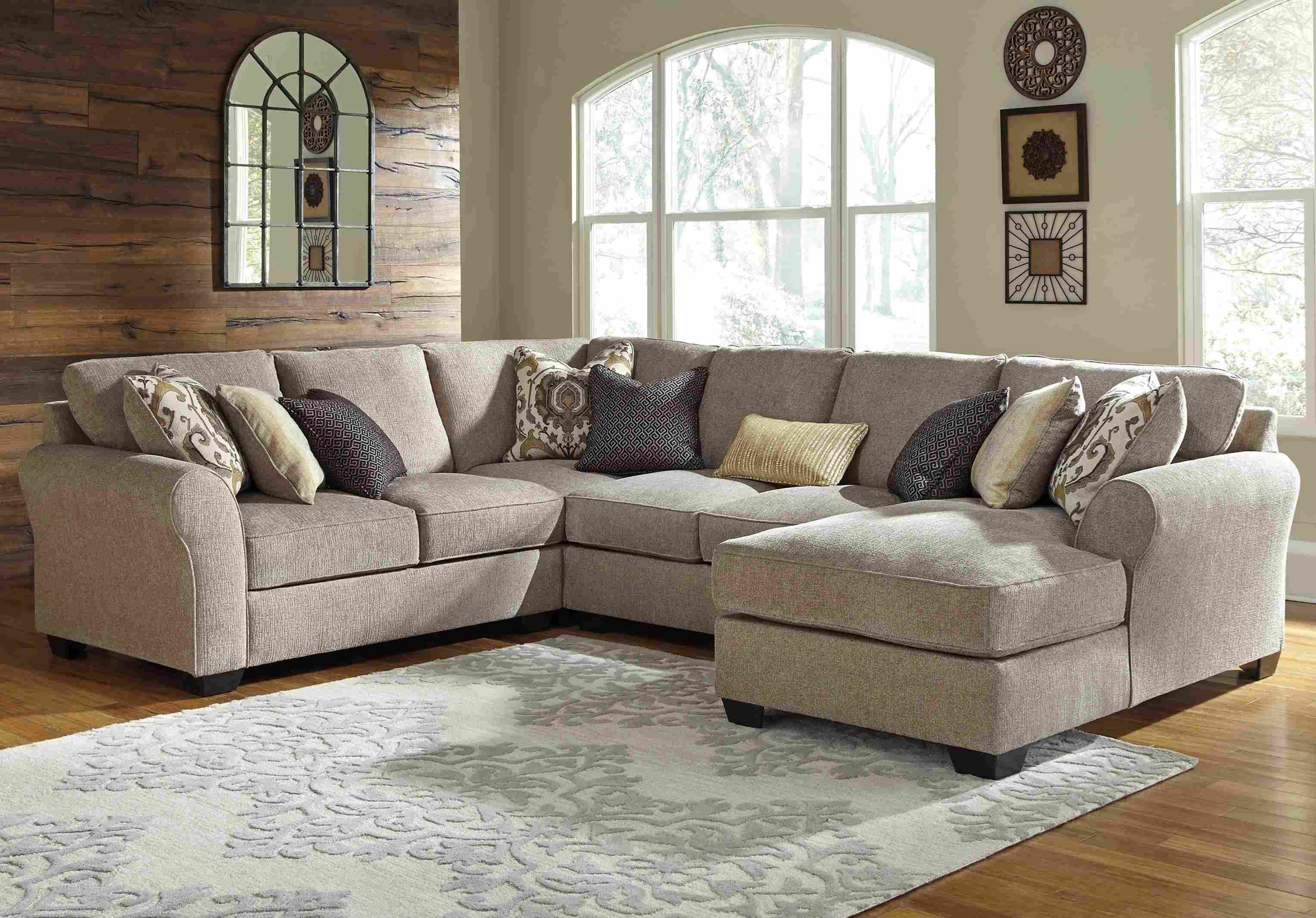 Microfiberctional Sofa With Chaise Amazing Photo Inspirations Pertaining To Arrowmask 2 Piece Sectionals With Laf Chaise (View 8 of 25)