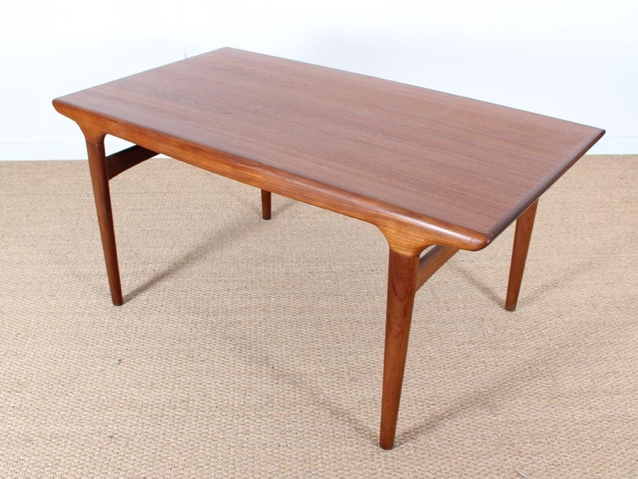 Mid Century Modern Danish Dining Table In Teakjohannes Andersen With Danish Dining Tables (View 21 of 25)