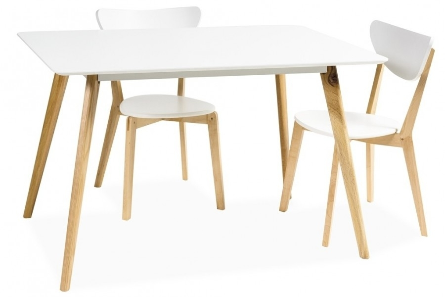 Milano Dining Table Scandinavian Style – Mr Gregor Ltd Inside Danish Style Dining Tables (Image 14 of 25)