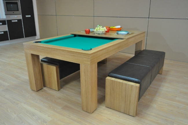 Milano Pool Dining Table – Eight To Ten Seater – Sam Leisure With Dining Tables For Eight (Image 19 of 25)