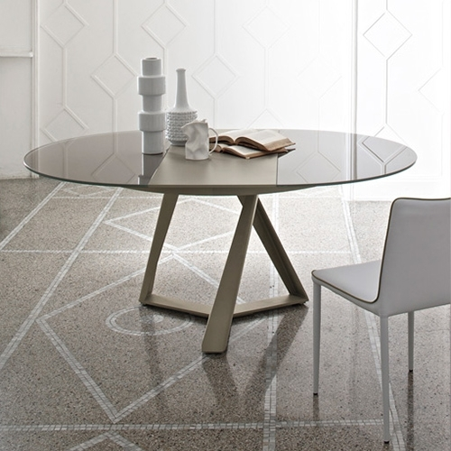 Millennium Round Extension Table – Property Furniture Regarding Lassen Extension Rectangle Dining Tables (Image 17 of 25)