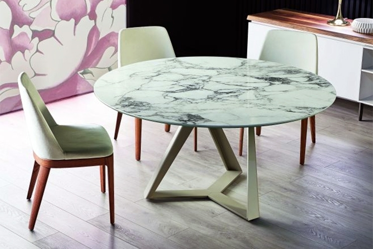 Millennium Round Extension Table – Property Furniture Within Lassen Extension Rectangle Dining Tables (Image 20 of 25)
