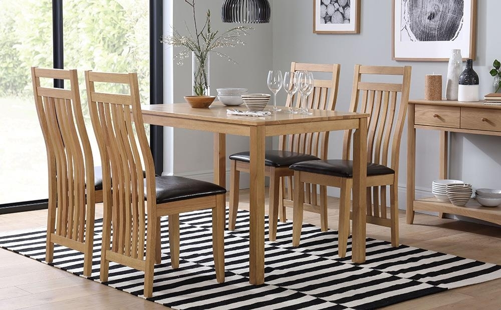 Milton Dining Table And 6 Bali Chairs Set Only £ (Image 11 of 25)
