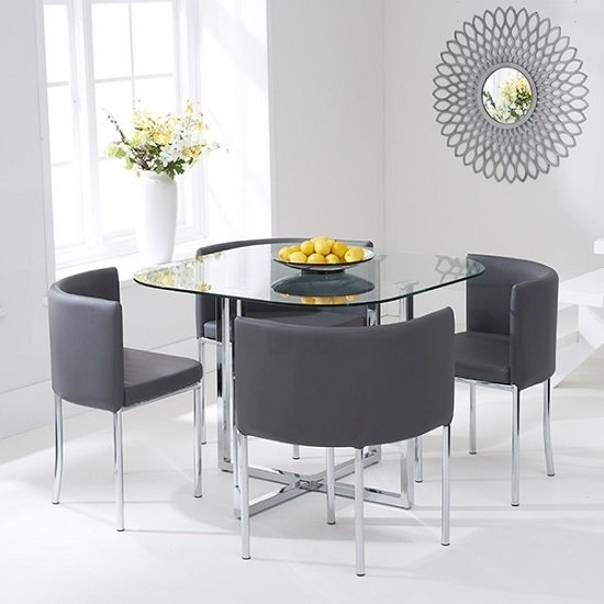 Featured Photo of Stowaway Dining Tables And Chairs