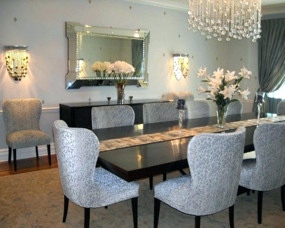 Mirror Glass Dining Table Modern Mirrors For Room Mirrored Buffet Inside Mirror Glass Dining Tables (Image 11 of 25)
