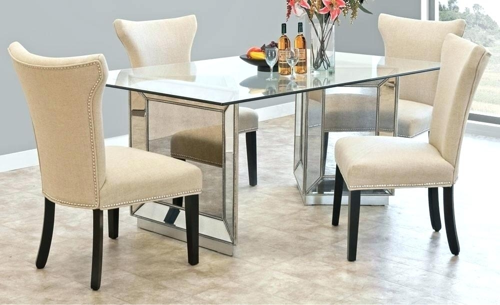 Mirrored Dining Room Table Mirror Dining Table Round Mirror Ideas With Regard To Mirror Glass Dining Tables (Image 15 of 25)