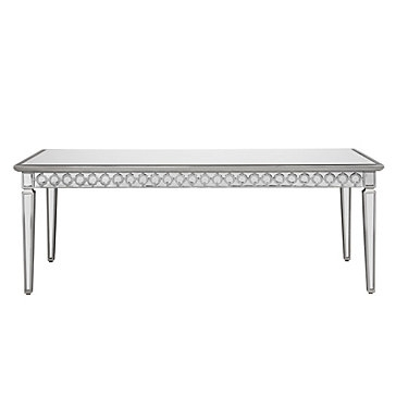 Mirrored Dining Table | Sophie Collection | Z Gallerie With Regard To Mirrored Dining Tables (Image 14 of 25)