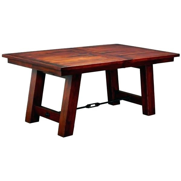 Mission Round Dining Table Craftsman Legs Style Room Plans With Craftsman Round Dining Tables (Image 17 of 25)