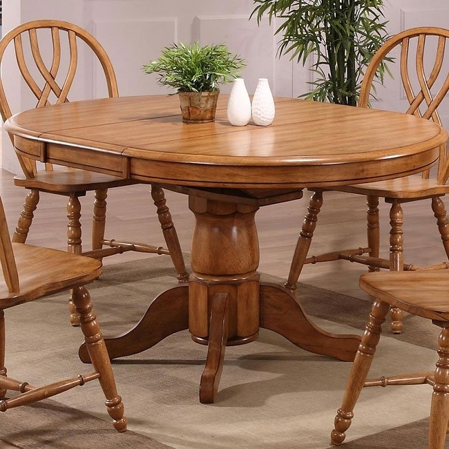 Missouri Round Dining Table (Rustic Oak) Eci Furniture | Furniturepick With Regard To Rustic Oak Dining Tables (Image 8 of 25)