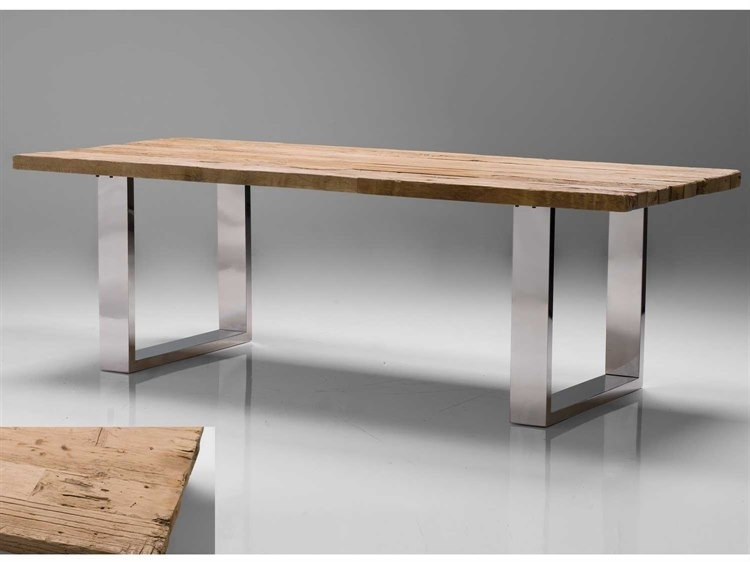 Mobital Provence 94 X 39 Rectangular Reclaimed Solid Wood Top Dining In Provence Dining Tables (Image 10 of 25)